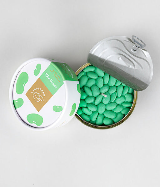 CandleCan Mint Beans Scented Candle