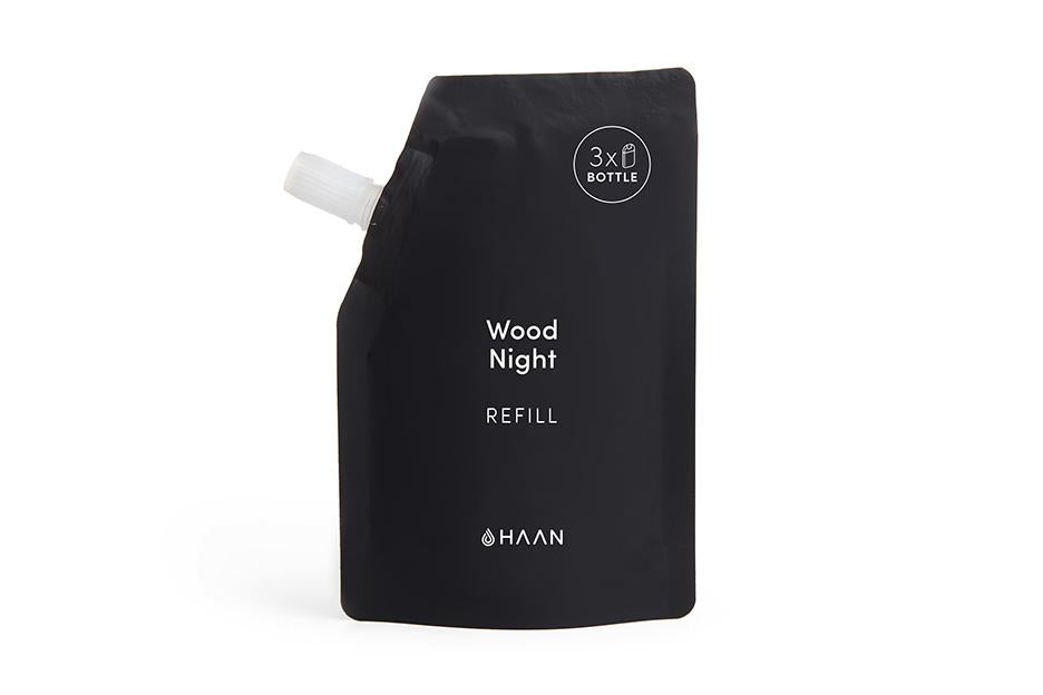 Haan Hand Sanitizer - Wood Night (Refill Pouch)