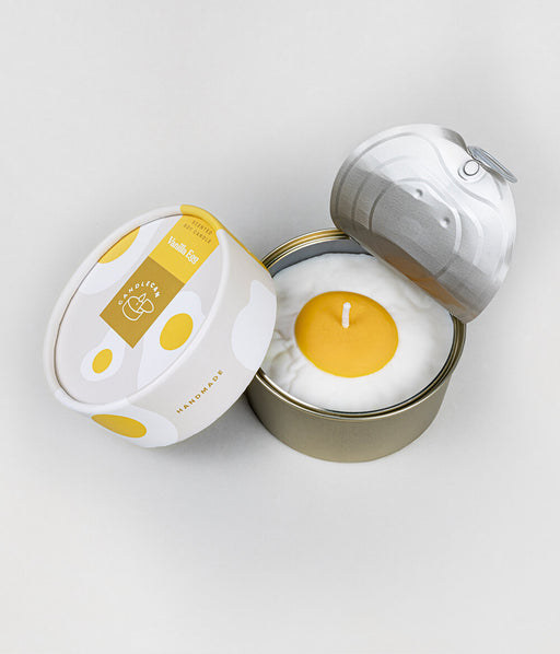 CandleCan Vanilla Egg Scented Candle