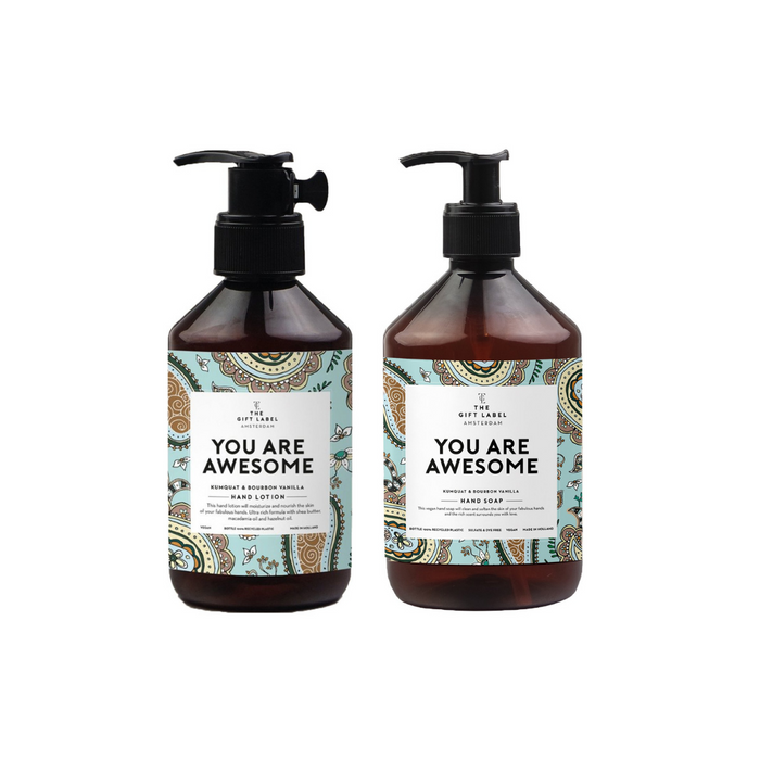 The Gift Label Hand Lotion & Hand Wash Bundle