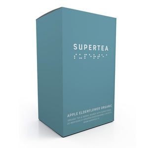 Supertea Apple Elderflower Organic Tea - Beyond Living
