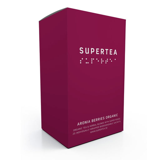 Supertea Aronia Berries Organic Tea - Beyond Living