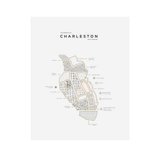 Charleston Wall Print - ROAM By 42Pressed
