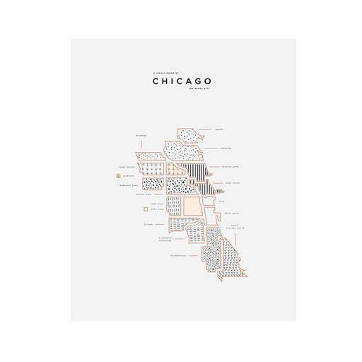 Chicago Wall Print - ROAM By 42Pressed