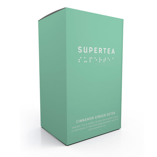 Supertea Cinnamon Ginger Detox Organic Tea - Beyond Living