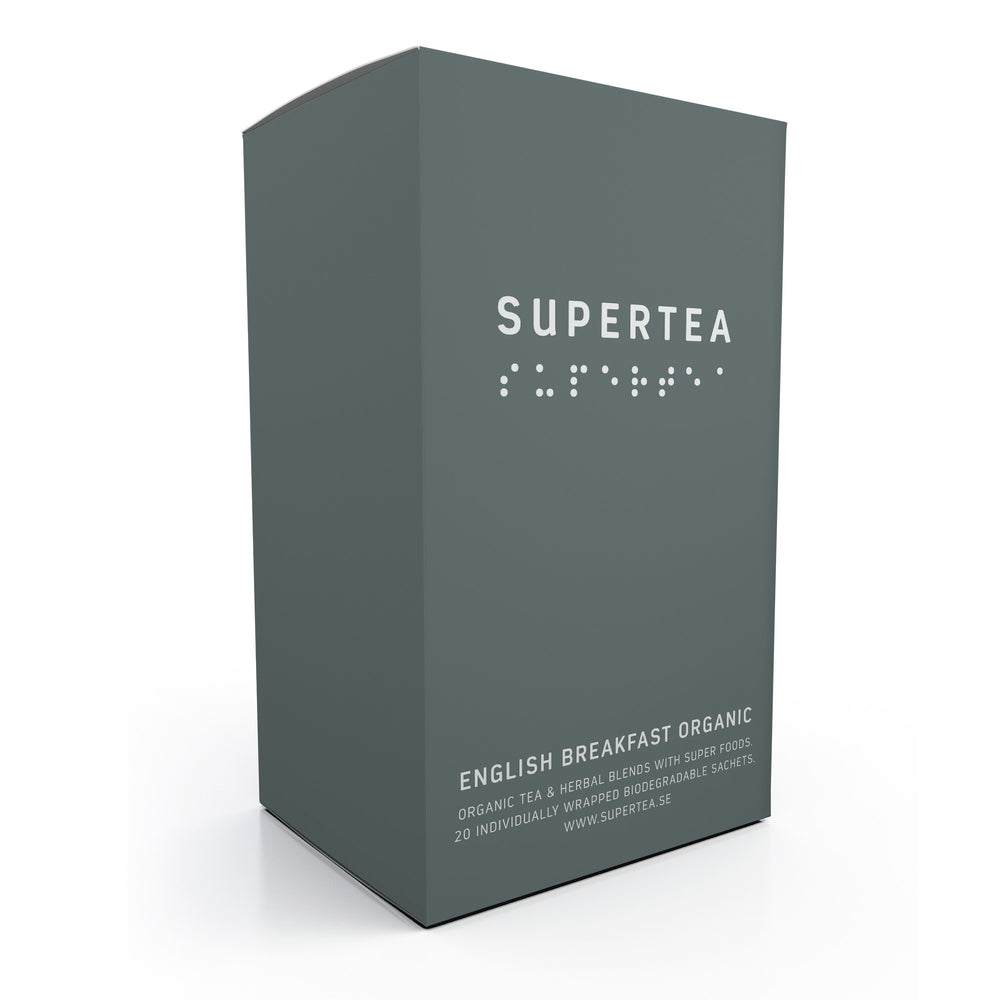 Supertea English Breakfast Organic Tea - Beyond Living