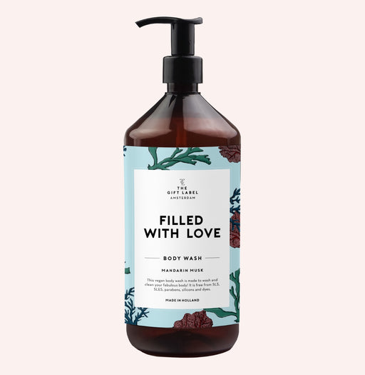 The Gift Label - Body Wash 'Filled with Love'