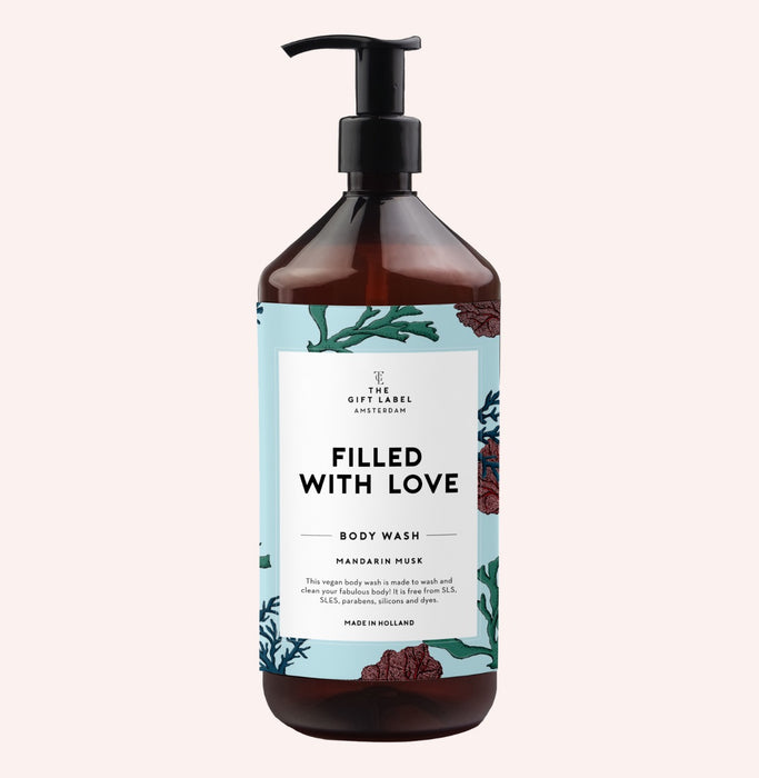 The Gift Label - Body Wash 'Filled with Love' - Beyond Living