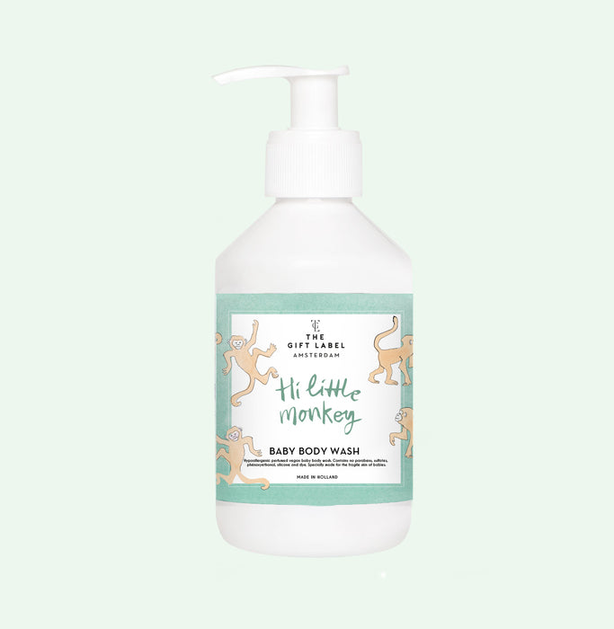 The Gift Label - Baby Body Wash 'Hi Little Monkey'