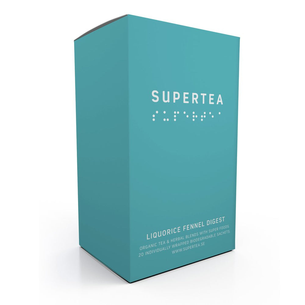 Supertea Liquorice Fennel Digest Organic Tea - Beyond Living