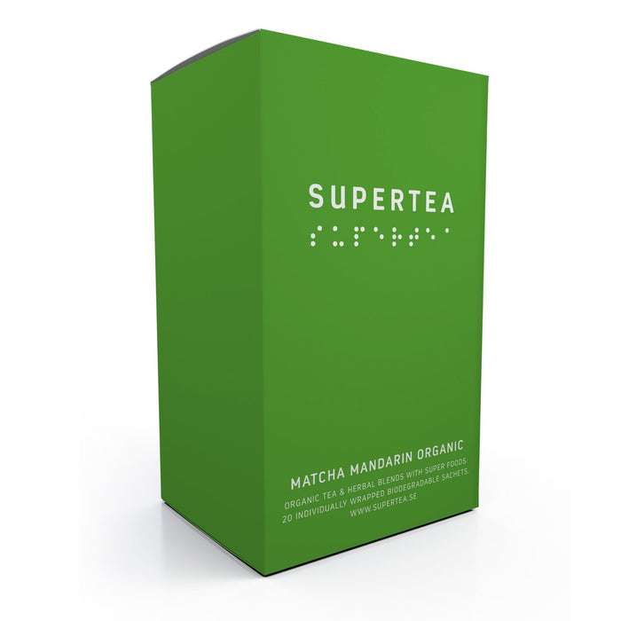 Supertea Matcha Mandarin Organic Tea - Beyond Living