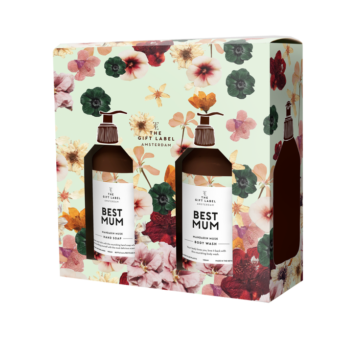 The Gift Label Mother's Day Gift Box - Best Mum