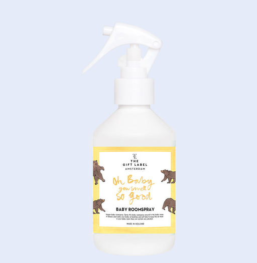 The Gift Label - Baby Room Spray 'Oh Baby you Smell so Good'