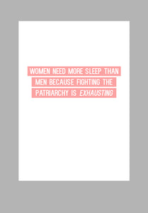 Mina Prints - Wall Art - Patriarchy - Beyond Living