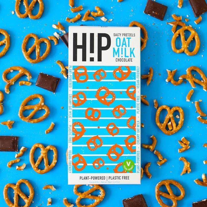 Hip Vegan & Dairy-Free Chocolate (Salty Pretzel - 70g)