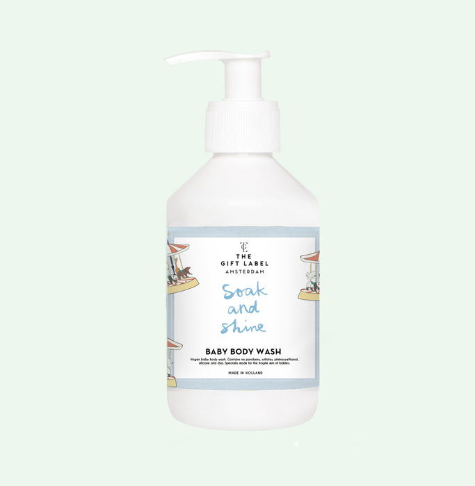 The Gift Label - Baby Body Wash 'Soak and Shine' - Beyond Living
