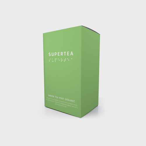 Supertea Green Tea Mint Organic - Beyond Living