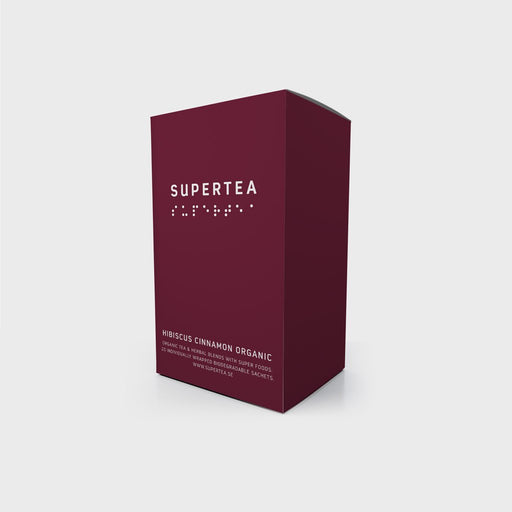Supertea Hibiscus Cinnamon Organic Tea - Beyond Living