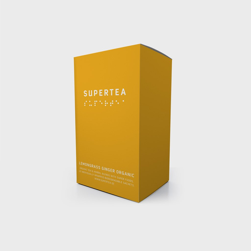 Supertea Lemongrass Ginger Organic Tea
