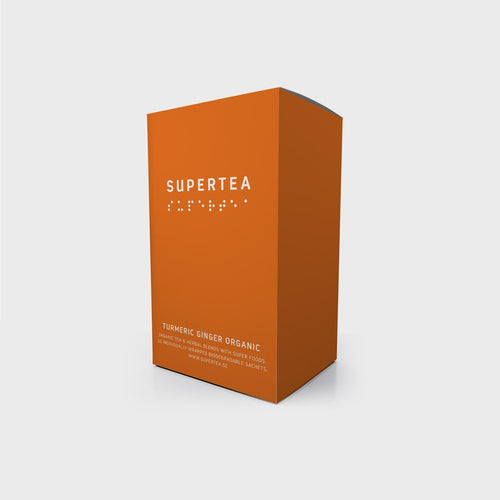 Supertea Turmeric Ginger Organic Tea - Beyond Living