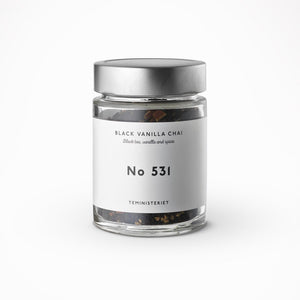 Tea Ministry Black Vanilla Chai No. 531 Loose Tea leaves - Beyond Living