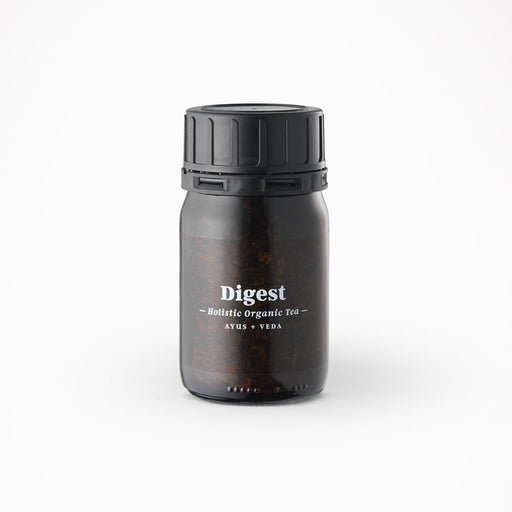 Tea Ministry Ayurveda Holistic Care loose Tea Jar - Digest - Beyond Living