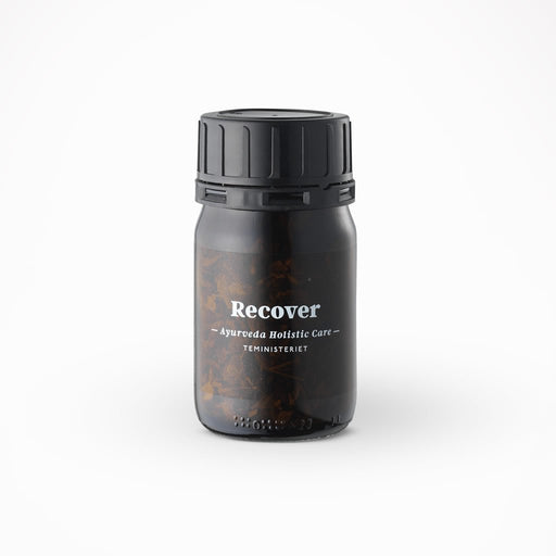 Tea Ministry Ayurveda Holistic Care loose Tea Jar - Recover - Beyond Living