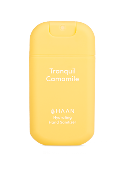 Haan Hand Sanitizer - Tranquil Camomile (30ml Spray Bottle)