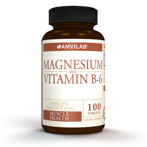 MAGNESIUM AND VITAMINE B6