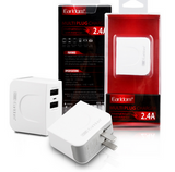 Fast Charge US Universal Dual USB USA Wall Charger Adapter,2 Ports US Plug Travel Charger for IPhone 4, 5, 6, IPad & Samsung