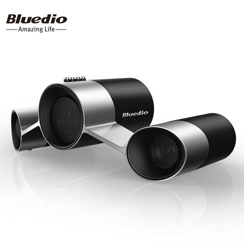 Bluedio US Wireless Home Audio Speaker System /Patented Three Drivers Bluetooth speakers with Mic& Deep Bass 3D Sound Effect
