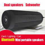 Portable Wireless Bluetooth Speaker Stereo Hi-Fi Boxes Outdoor Waterproof Support SD TF card FM Radio Super Bass High Quality