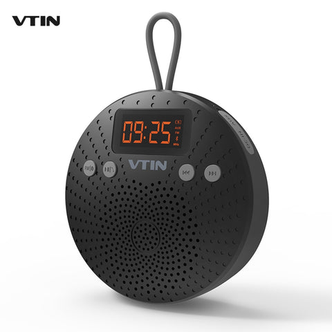 VTIN 5W Bluetooth Speaker IPX5 Waterproof Outdoor Hands-free Calls Speaker w/ FM Radio Alarm Clock High Stereo Music for Phones