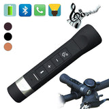 Madetec 4 in 1 Outdoor Riding Cycling Portable Speaker Power Bank Multi-Functional Bluetooth Speaker MP3+Flashlight+FM Radio