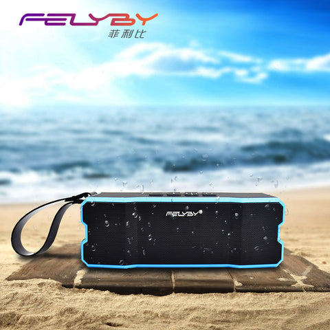IPX6 waterproof Portable Bluetooth speaker Outdoors and family stereo wireless speaker for phone and laptops 4500mAh large power