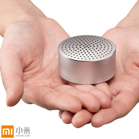 Original Xiaomi Portable Mini Bluetooth Speakers Metal Steel Wireless Smart Hands Free Speaker