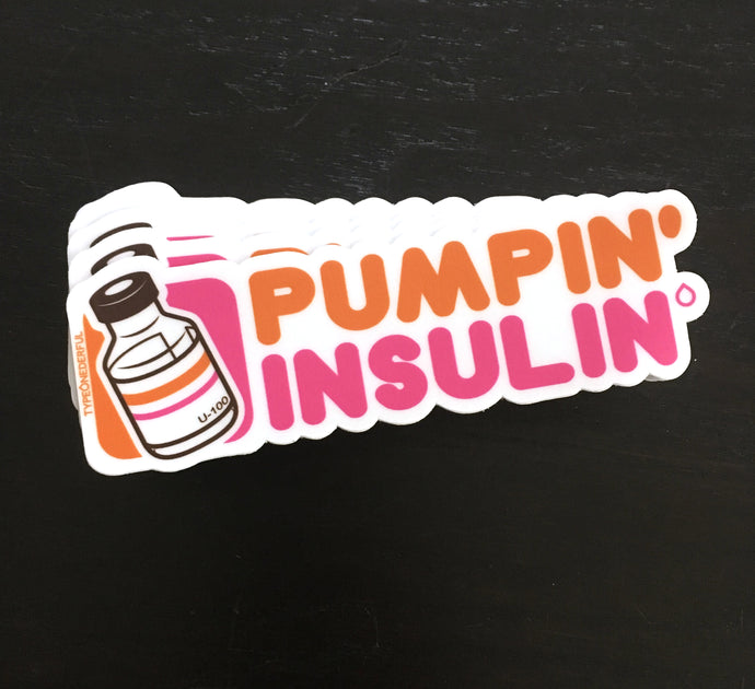 Pumpin' Insulin Sticker Pack