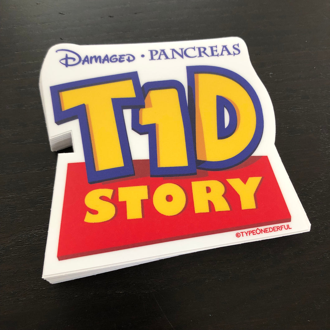 T1D Story Stickers
