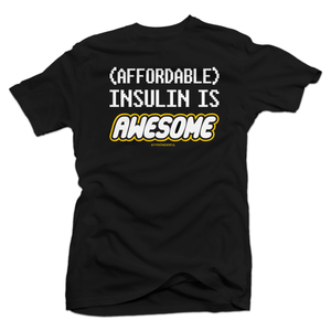 Insulin is Awesome (Kids) [tee]