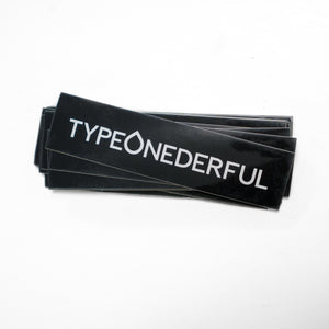 TypeONEderful Sticker Pack