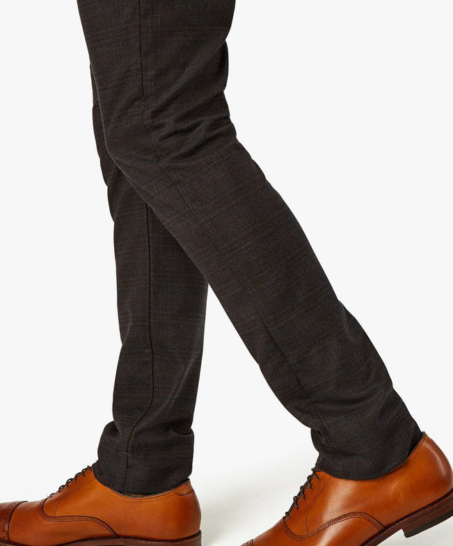 Cool Mocha Checked Leisure Pant