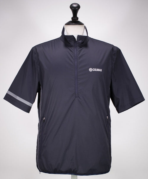 Navy Wind Breaker Polo