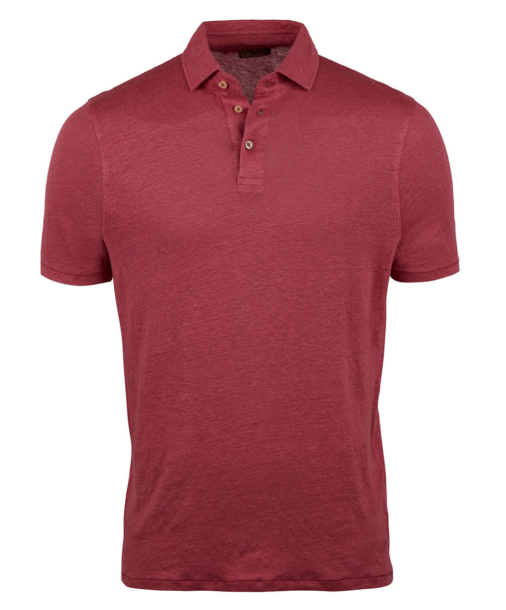 Berry Stretch Fitted Body Polo