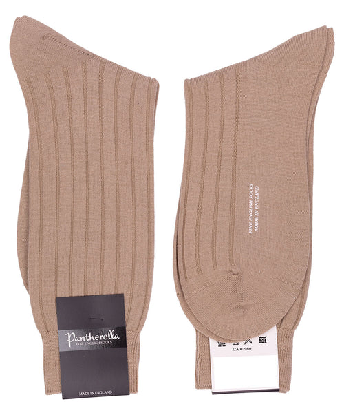 Light Khaki Mid Calf Sock