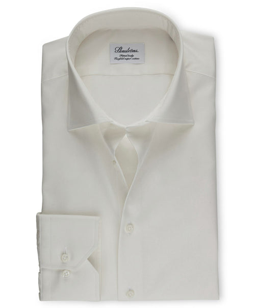 Off-White Fitted Body Regular Cuff Dress Shirt