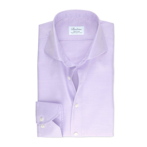 Mauve Fitted Body Regular Cuff Dress Shirt