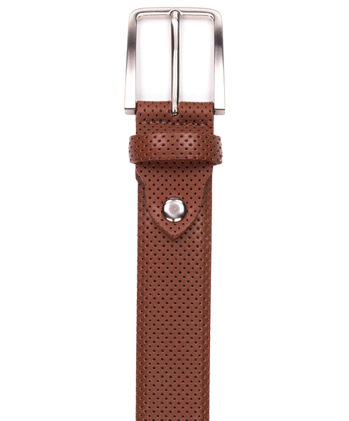 Tan Perforated Belt