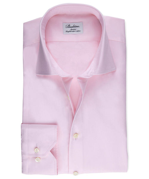 Pink Slimline Regular Cuff Dress Shirt