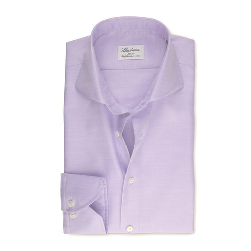 Mauve Slimline Regular Cuff Dress Shirt