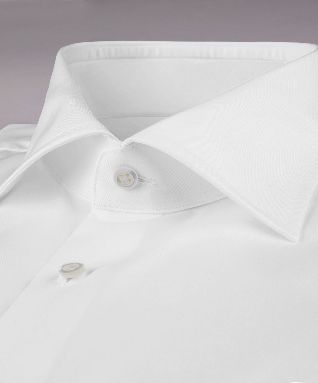 White French Cuff Slimline Dress Shirt